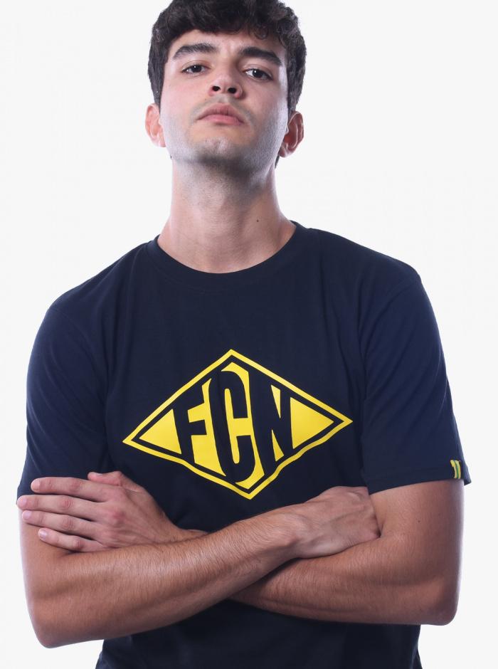 T-Shirt FC Nantes Focus Adulte Noir
