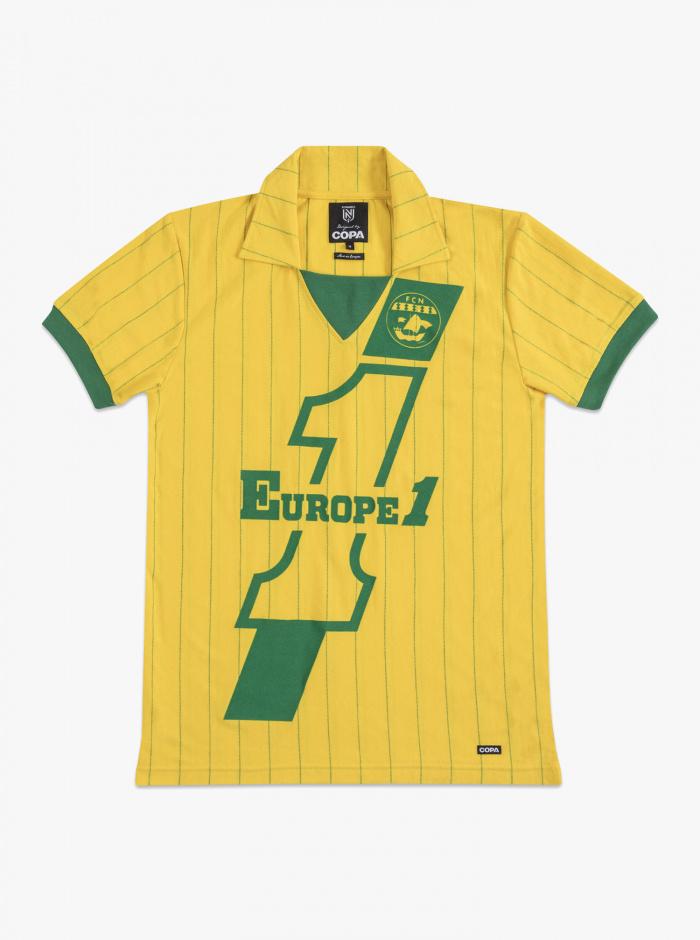 Maillot FC Nantes Vintage 82/83 Europe 1