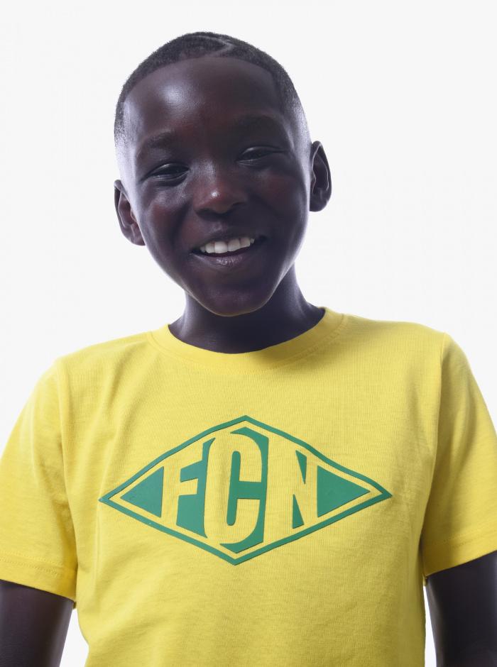 T-shirt FC Nantes Focus Junior Jaune