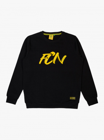 Sweat FC Nantes Brush Noir