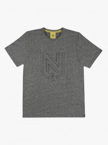 T-shirt FC Nantes Embossé Gris Junior