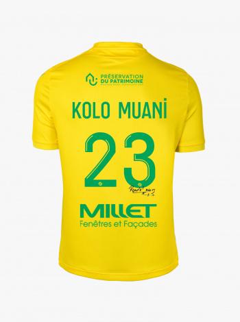 Maillot FC Nantes Domicile Kolo Muani Dédicacé 20/21