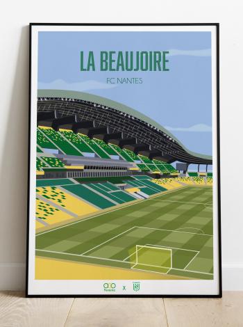 Illustration FC Nantes La Beaujoire