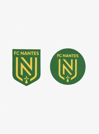 2 Autocollants FC Nantes Vert