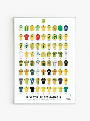Illustration FC Nantes Le Vestiaire