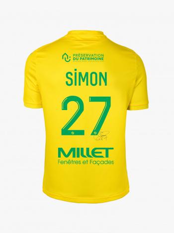 Maillot FC Nantes Domicile Simon Dédicacé 20/21