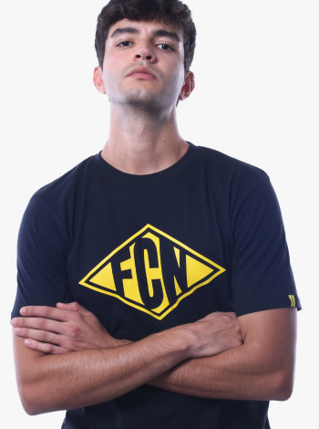 T-Shirt FC Nantes Focus Adulte Noir