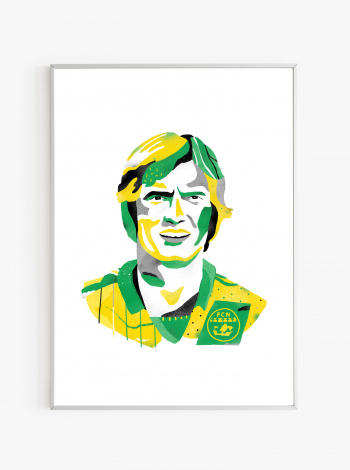 Illustration FC Nantes - Henri Michel