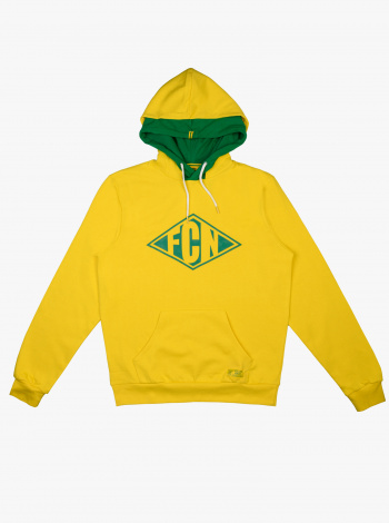 Sweat FC Nantes Focus Jaune Junior