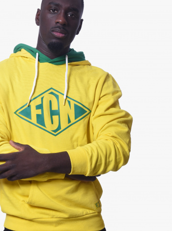 Sweat FC Nantes Focus Jaune Adulte