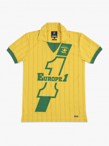 Maillot FC Nantes Vintage 82/83 Europe 1