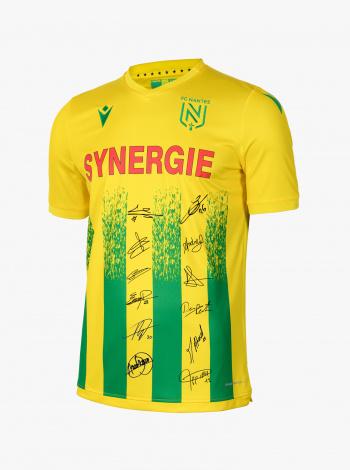 Maillot FC Nantes Domicile Adulte Dédicacé 20/21