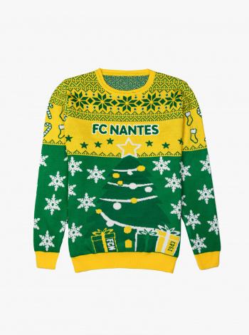 Pull de Noël FC Nantes