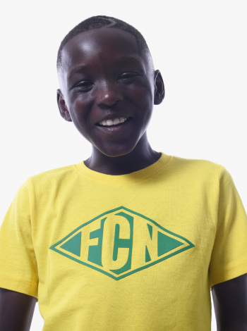 T-shirt FC Nantes Focus Junior Jaune
