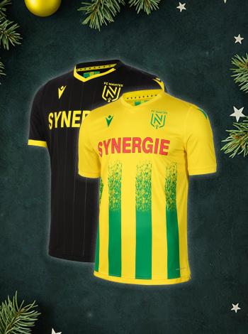 Maillot FC Nantes Domicile/Extérieur