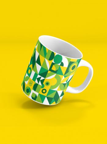 Mug FC Nantes Motif