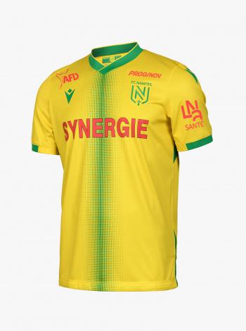 Maillot FC Nantes Domicile Sponsors 21/22