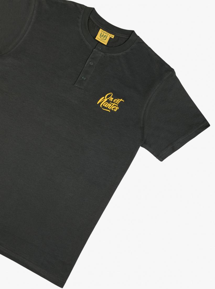 T-shirt FC Nantes Col Tuni