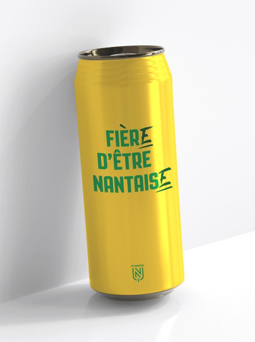 Canette Isotherme FC Nantes Nantaise