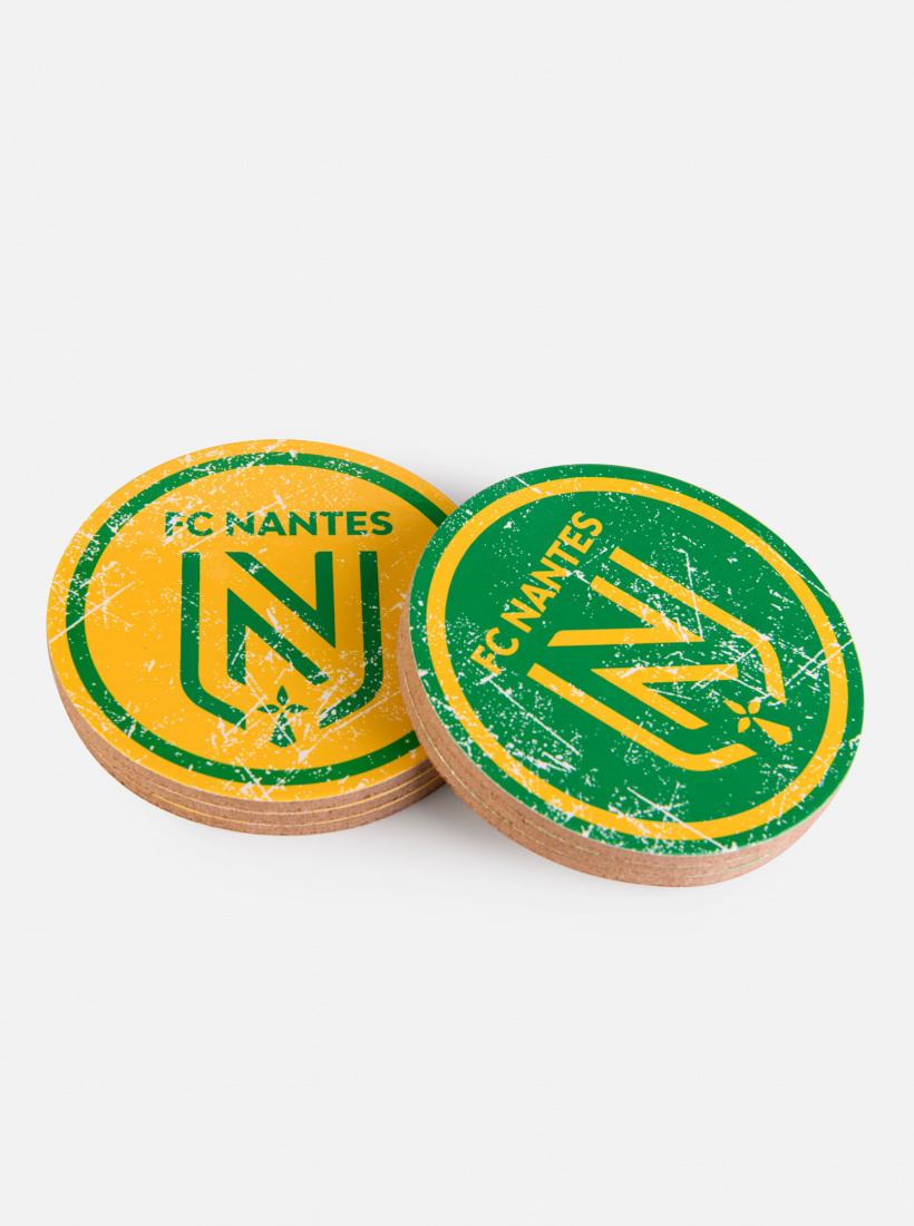 6 Dessous de Verre FC Nantes