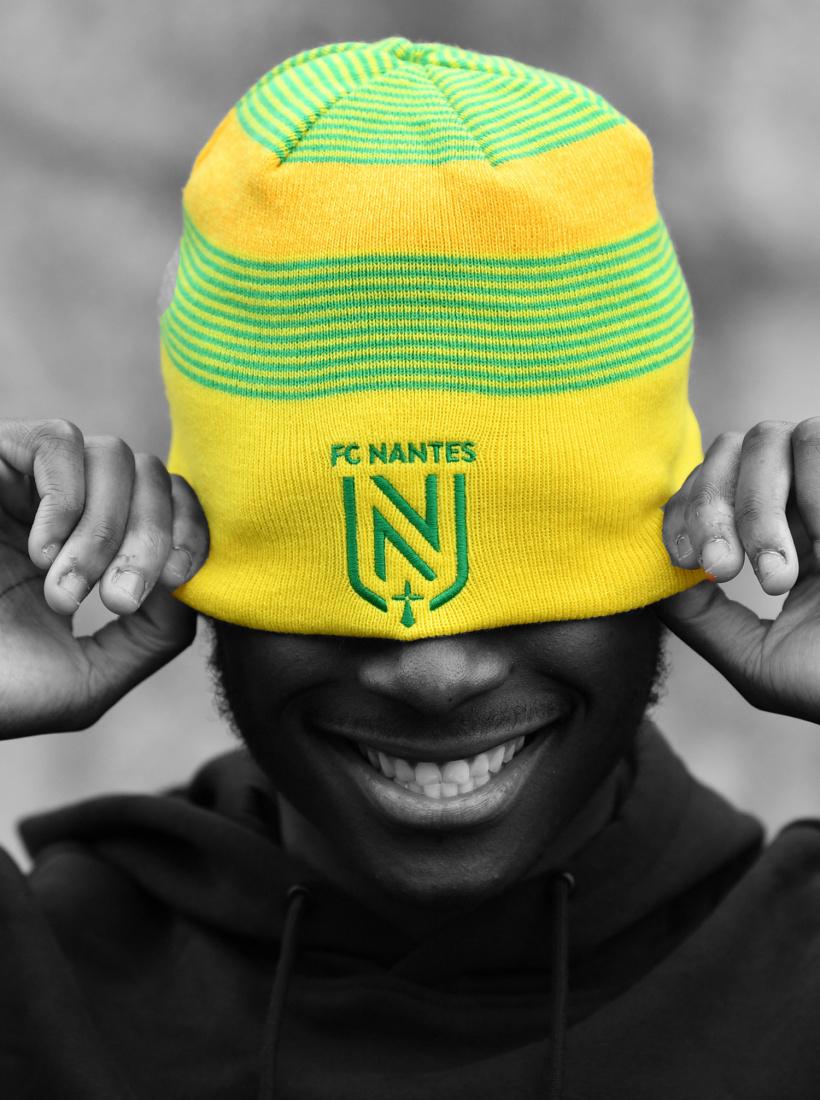 Bonnet FC Nantes New Era Reversible