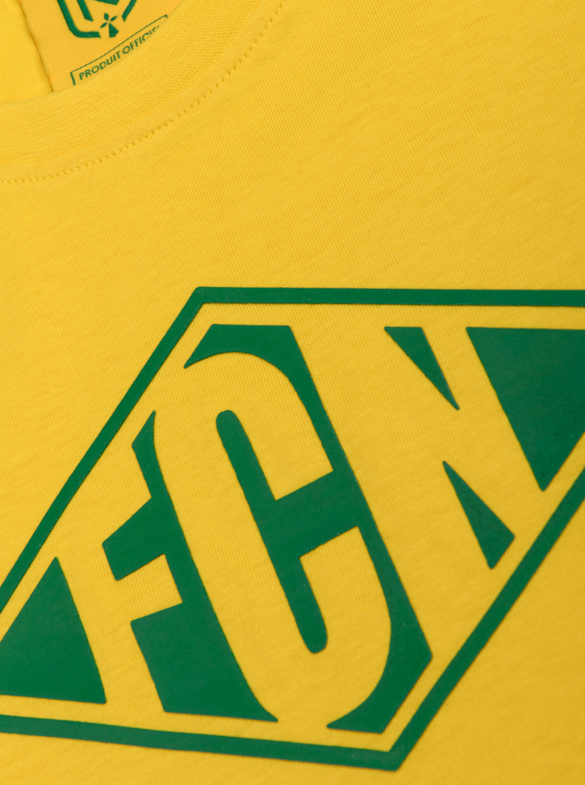 Sweat FC Nantes Focus Jaune Junior
