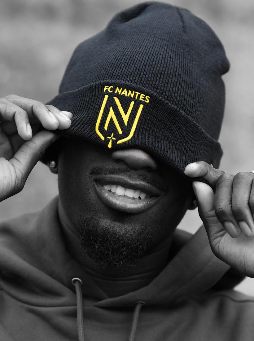 Bonnet FC Nantes New Era Noir