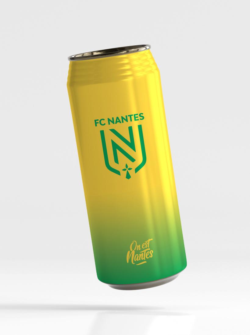 Canette Isotherme FC Nantes Logo