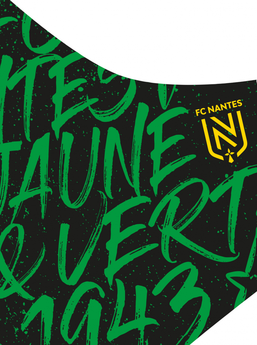 Masque FC Nantes Grafiti