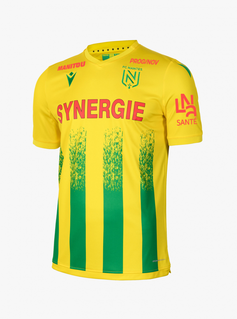 Maillot FC Nantes Domicile Pallois Dédicacé 20/21
