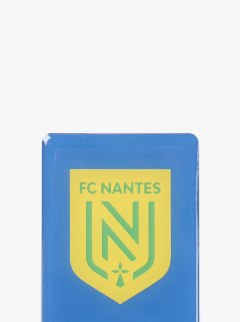 2 Stickers Plaque Auto FC Nantes