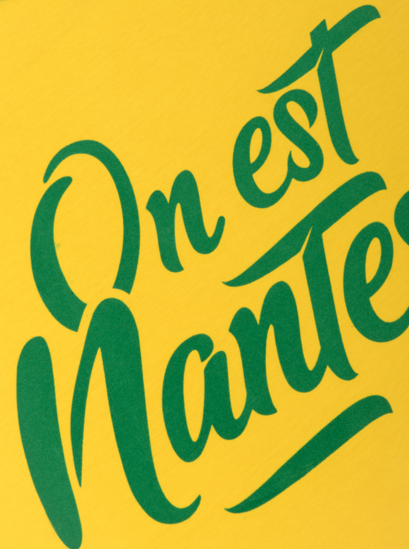 T-shirt FC Nantes On Est Nantes