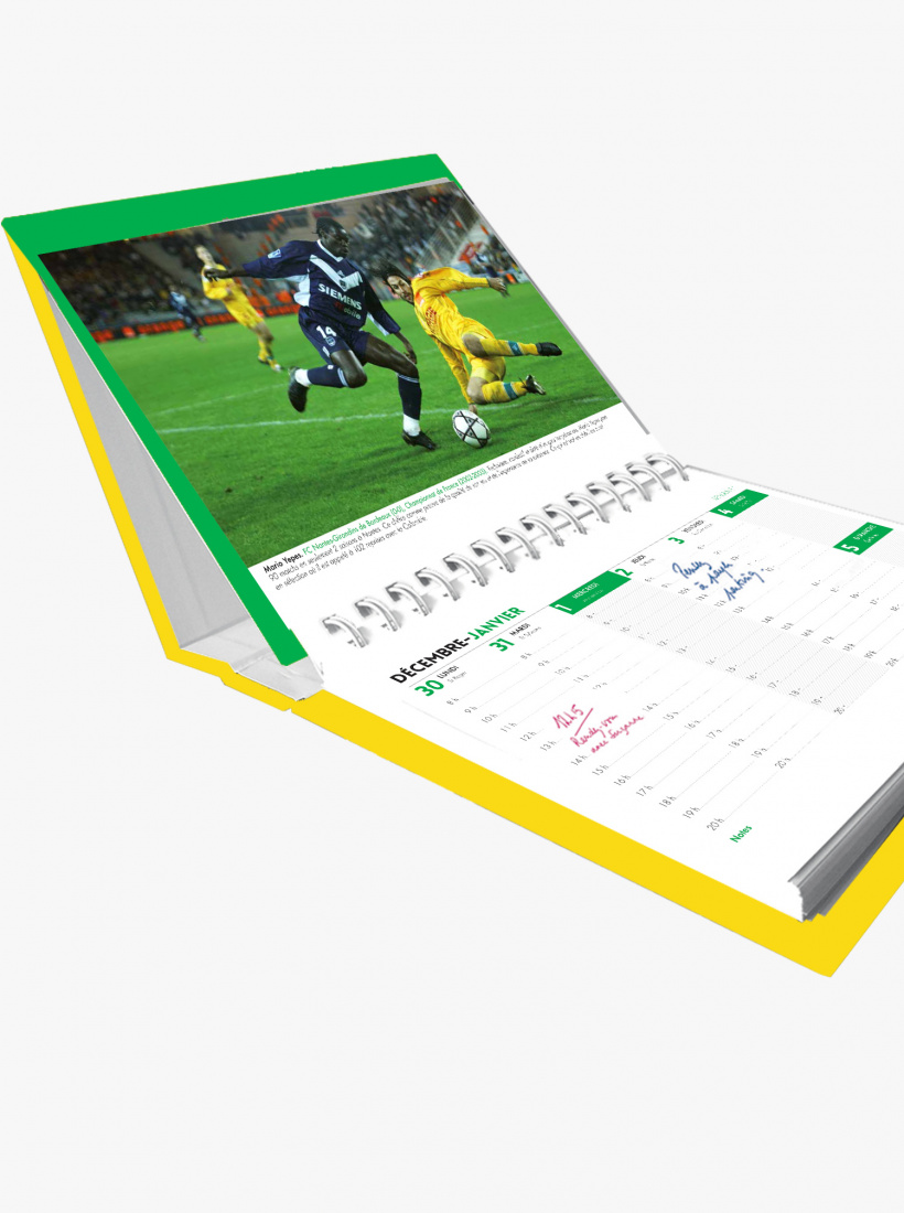 Agenda Calendrier FC Nantes 2021