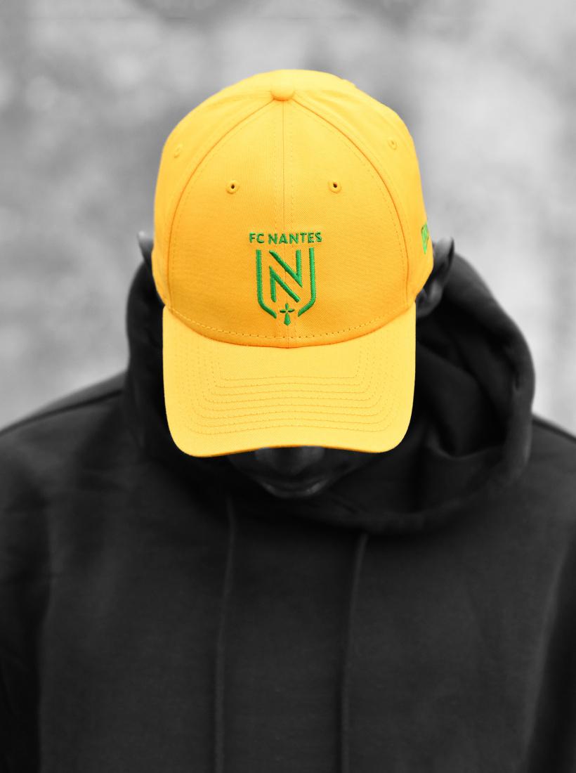 Casquette FC Nantes New Era Jaune