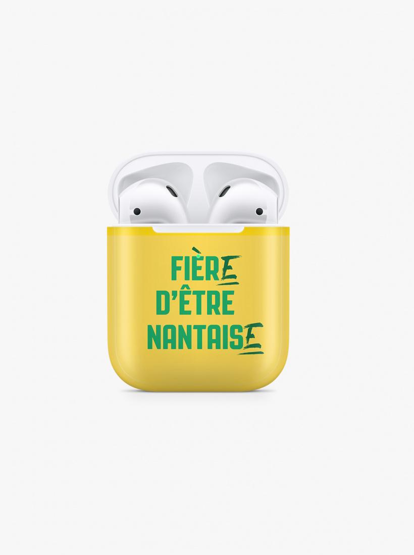 Coque Airpods FC Nantes Nantaise