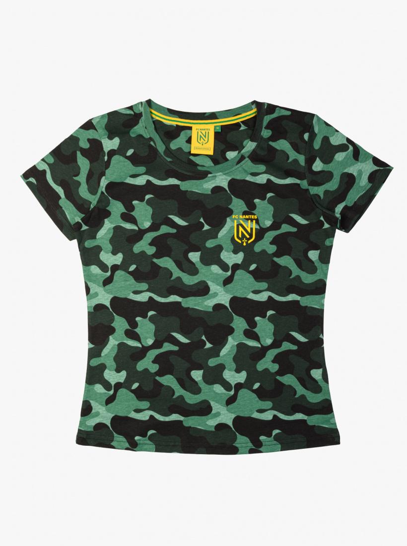T-shirt FC Nantes Camo Femme